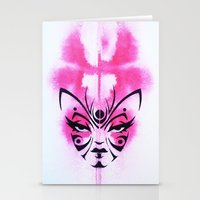Kabuki Kreature Stationery Cards