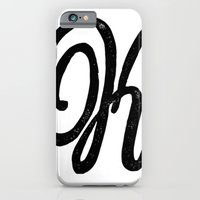 Monogrammed Letter K iPhone 6 Slim Case