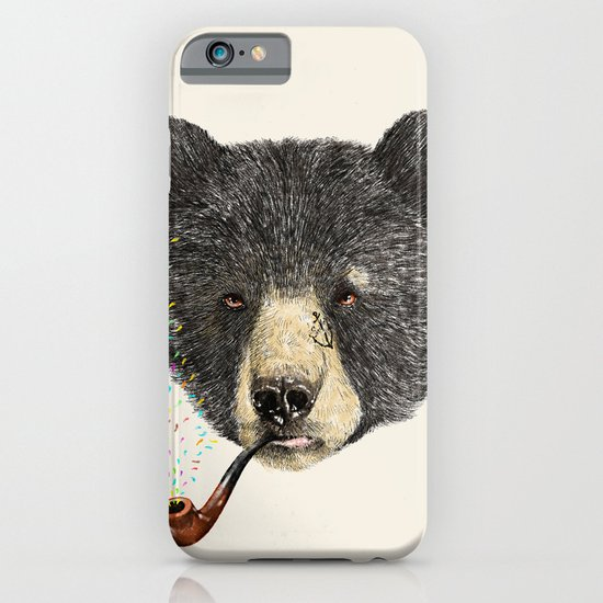 BLACK BEAR SAILOR iPhone & iPod Case