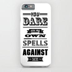 HP Quotes - Half Blood Prince iPhone 6 Slim Case