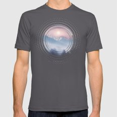 Pastel vibes 11 Mens Fitted Tee Asphalt SMALL