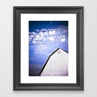 A Storm is Brewing Framed Art Print