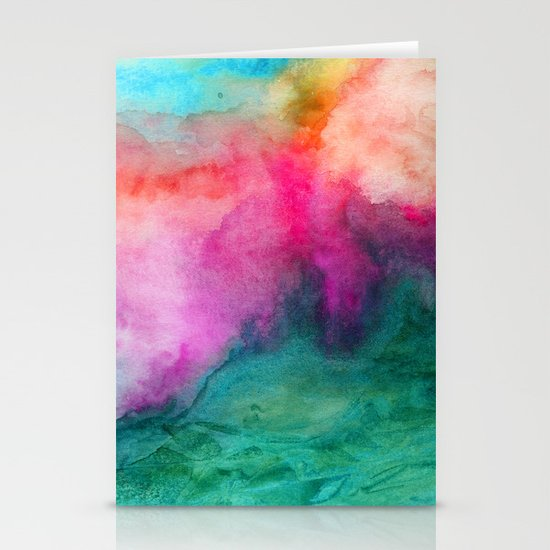 Staring at the Ceiling Stationery Card