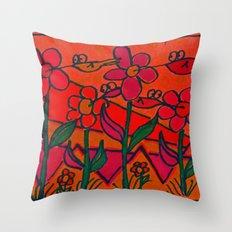 Hummingbird Divine Throw Pillow