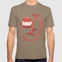 Pump Up The Jam Mens Fitted Tee Tri-Coffee SMALL