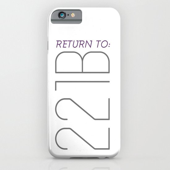 Return to 221B iPhone & iPod Case