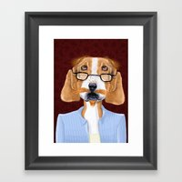 Mr. Retired Framed Art Print
