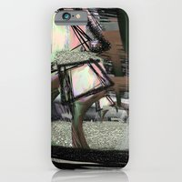 iPhone & iPod Case featuring Field of Mushrooms by Garyharr
