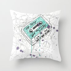 Stop Crying About The Music Industry Throw Pillow