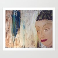 Strong Buddha Art Print