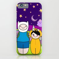 Kokeshis Finn&Jake iPhone 6 Slim Case