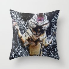 The Emerging Throw Pillow