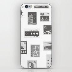 USA, Canada, London, The Moon iPhone & iPod Skin
