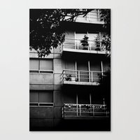 Canvas Print featuring Balconies by Jaime Lynn Photography