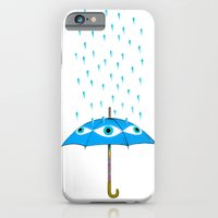 iPhone & iPod Case featuring Storms Are Brewing In Your Eyes by interopia