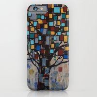 :: Stained Glass Tree :: iPhone 6 Slim Case