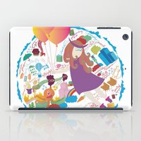 Ambrosia with balloon iPad Case