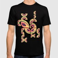 Eden II Mens Fitted Tee Black SMALL