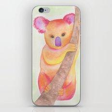 Colorful Koala iPhone & iPod Skin