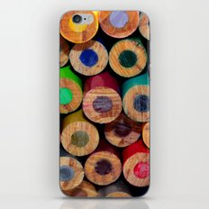 Colored Pencils Part II iPhone & iPod Skin