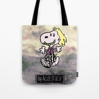 Beaglejuice Tote Bag