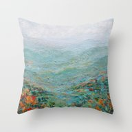 Blue Ridge October Throw Pillow