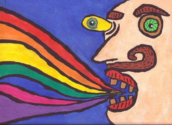 Rainbow. Canvas Print