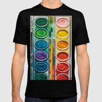 The Painter  Mens Fitted Tee Black SMALL