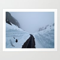 The Winter Pass Art Print