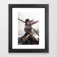 Hard Game L.C. Framed Art Print