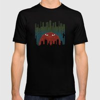 Cave Grump Mens Fitted Tee Black SMALL