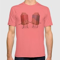 I only have pasteurised for you Mens Fitted Tee Pomegranate SMALL