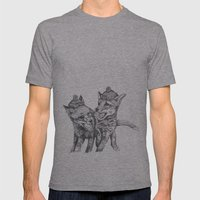 Pierre et Jacques Mens Fitted Tee Athletic Grey SMALL