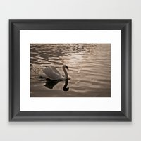 Drifting In Thought Framed Art Print