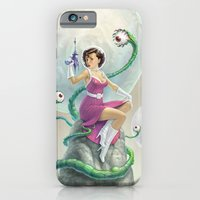 iPhone & iPod Case featuring Astro Babe by Joel Hustak