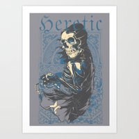 Heretic Death Art Print
