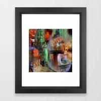 Loving Break Framed Art Print