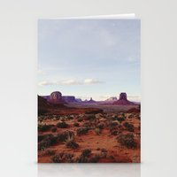 Monument Valley View Stationery Cards