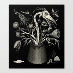 Fierce Bouquet Canvas Print