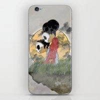 skull kids iPhone & iPod Skin