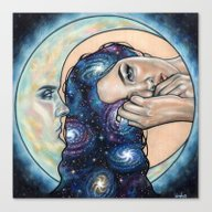 Canvas Print featuring Celestial  by Wendy Ortiz