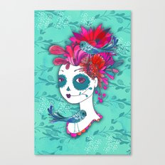 Day of The Dead Dreamer Canvas Print