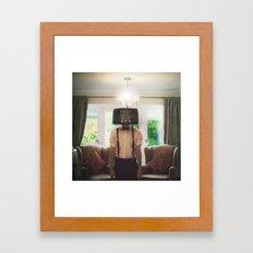 Ol' Radio Daze Framed Art Print