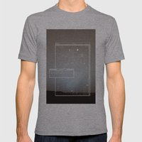 Pixel Screencapture - Are They Pixels Or Stars? Mens Fitted Tee Athletic Grey SMALL