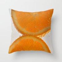 Orange You Glad You Stop… Throw Pillow