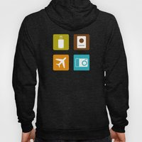 Travel Icons Hoody