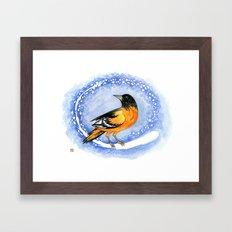 Oriole Framed Art Print