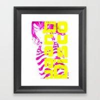Disco Queen Of Myworld Framed Art Print
