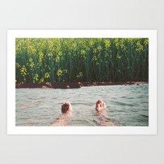 Lander Art Print