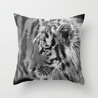 Tiger Cub 2 Throw Pillow
